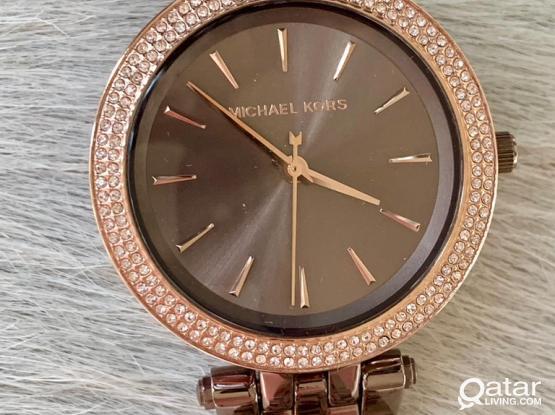 MICHAEL KORS beautiful Sable Brown Dial Watch