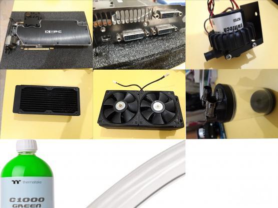 GTX 690 4GB W/LIQUID COOLING KIT