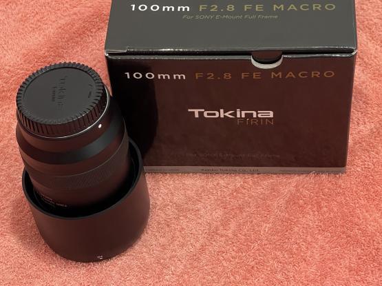 Tokina FiRIn 100mm f2.8 macro for Sony