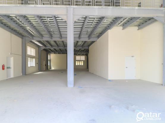 1000 sqm warehouse + rooms @ Barkat Al Awmar