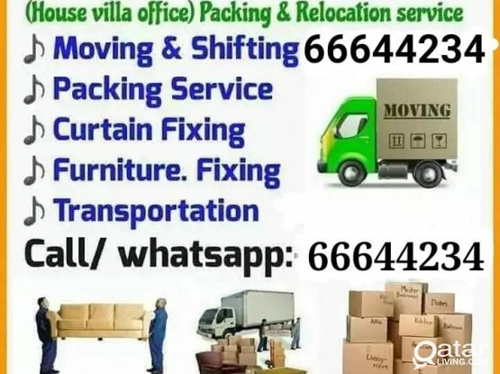 Shifters & Movers, Safe and reliable. Best Price. Please call or whatsapp 66644234