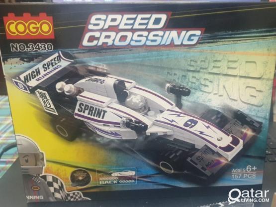 HIGH SPEED CROSSING RACE CAR
