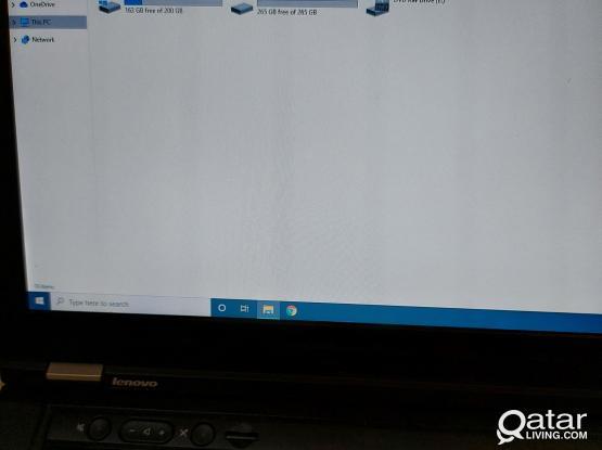Lenovo thinkpad Laptop Core i7  8GB RAM with 500gb ssd