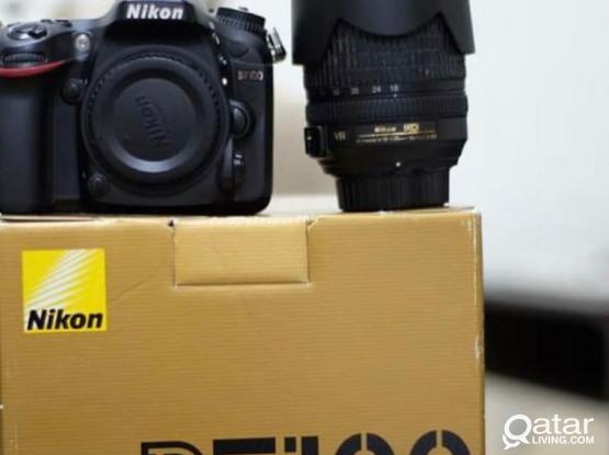 NIKON D7100 WITH 18-105 F3.5 LENS
