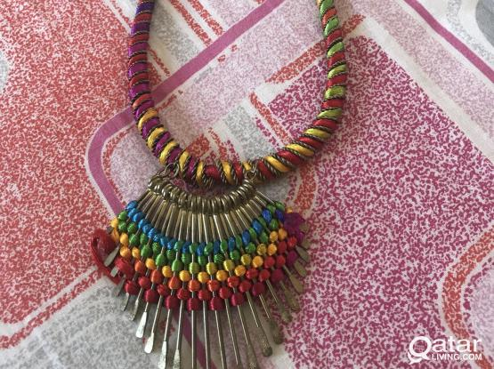 Girls Hair Bands/Necklace