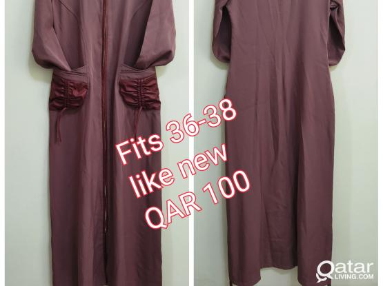 Islamic clothes / dresses / abaya  / جلباب / عباية