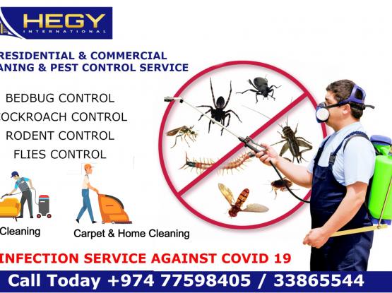 Pest Control - Cleaning Service - Sanitation Service