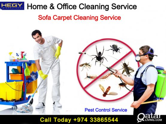 Cleaning Service -Pest Control -Sanitation Service COVID 19