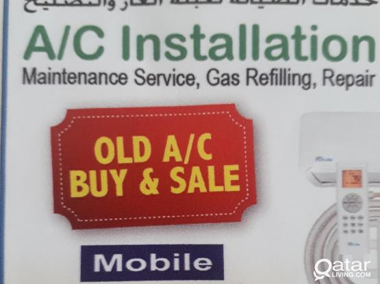 AC installation, maintenance, gas refilling, repair. Please call 77129059/70304581