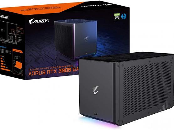New, GIGABYTE AORUS GeForce RTX 3080 GAMING BOX