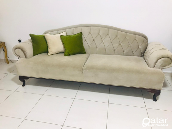 Modern sofa 7 seater 3+3+1