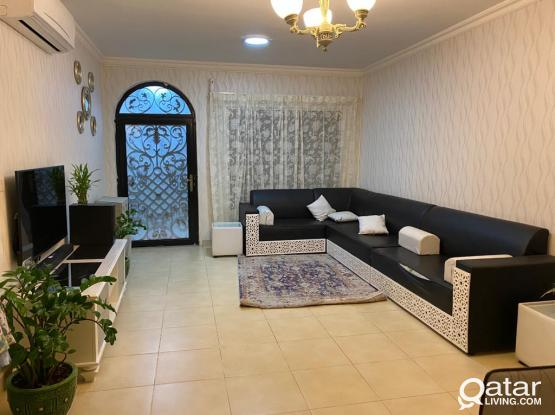 2bhk Ground floor Villa Appartment fully furnished in New salata.