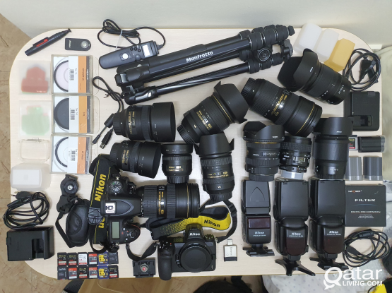 Nikon DSLR Lenses and Photography Gears