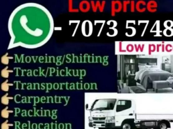 Shifting and moving 24/7. Very experienced, please contact 70735748