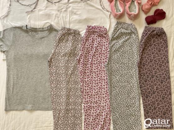 Girls Clothing: Pyjamas/Home Wear (8 - 10 Years) All for 50 QAR!
