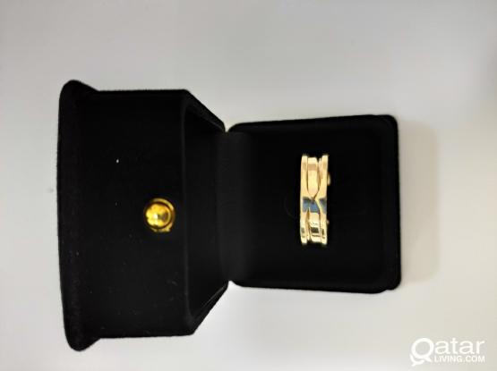 18k Saudi Gold Ring & Bracelet