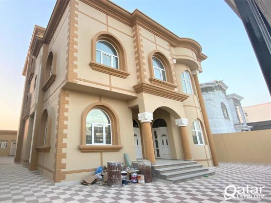 Brand New 10BR Villa for Sale in Al Wukair - فيلا جديدة للبيع بالوكير