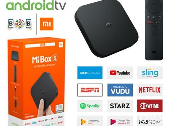 Mi TV Box S 4K Ultra HD Streaming Media Player with Google Assistant and Built-in Chromecast - Black