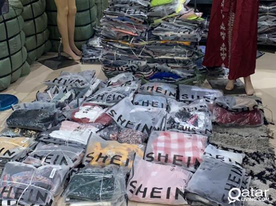 Shein Wholesale only In Qatar (100 pieces minimum order )