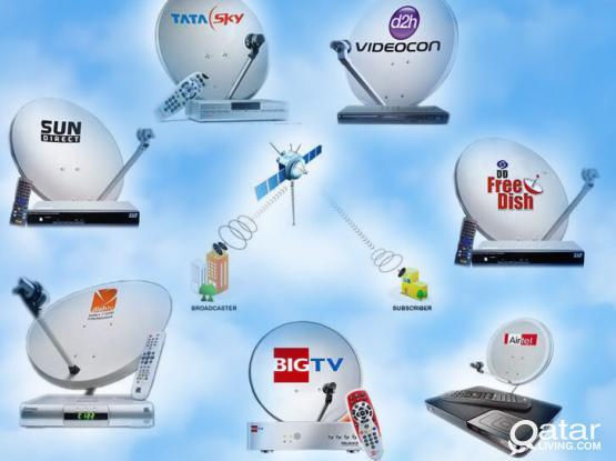 "Satellite Dish Installation Service in Hole Qatar""33798555 What's Up"