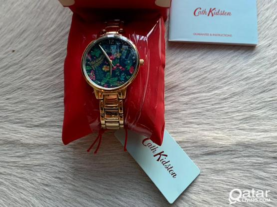 Cath Kidston Floral Watch New With Tags