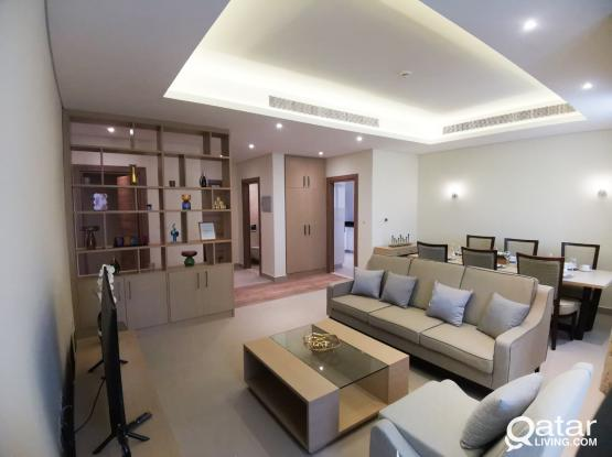 Brand New 2BHK Fully Furnished apartment  in Lusail   NO COMMISSION