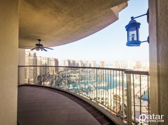 Large 3 Bed Room with Direct Marina View