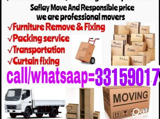 Moving and Shifting all over Qatar. 33159017Good price and amazing service. Please whatsapp the work and location- 33159017