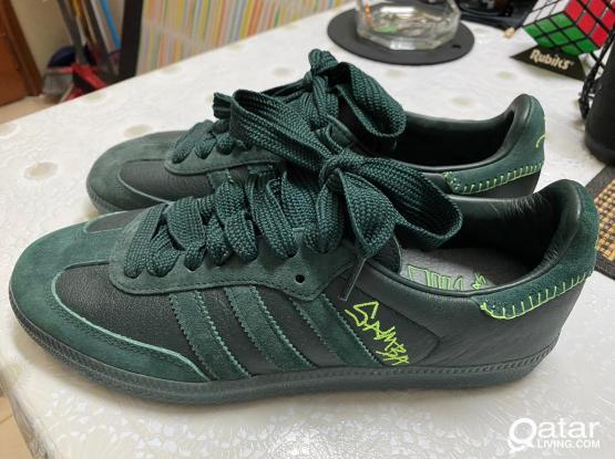 Men's Shoes - Samba Jonah Hill Green US 8 FR 41 1/3
