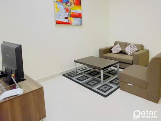 1 Bedroom Fully Furnished Apartments│Al Gharrafa