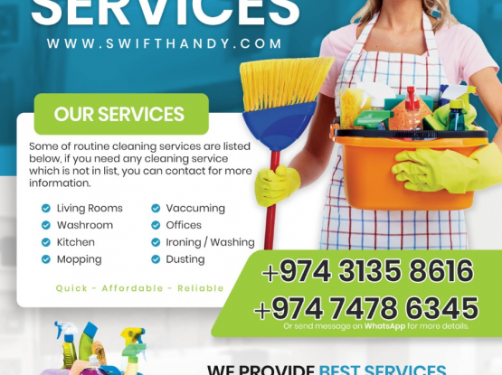 Professional Female Cleaners - Affordable Rates