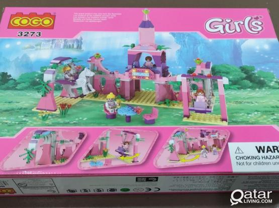 Princess castle [Full Set] building blocks