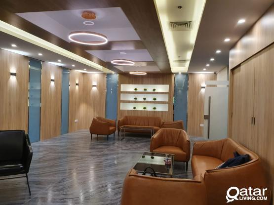 5 to 10 peoples Fully Furnished Office in Alsadd