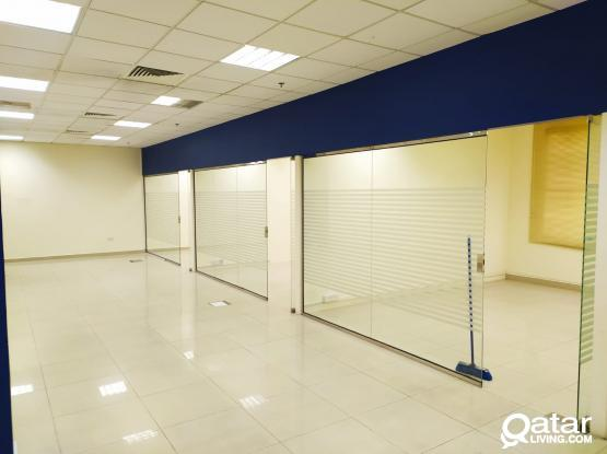 2 Months Free!! 158 Sqm Partitioned Office Space in Muntaza
