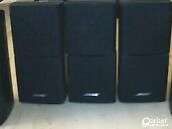 Bose Double Cube Speakers (5 Nos)
