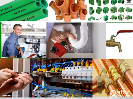 Maintenance works- Painting, Electrical, Plumbing, Tiles, Gypsum works. Please call 70714954