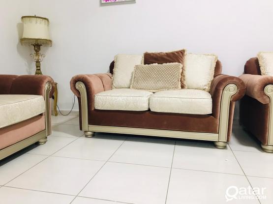 Home center 7 seater sofa