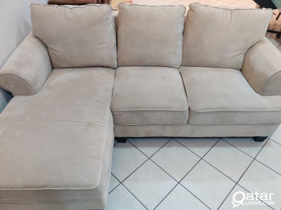 Sofa - (Brooke 3 Seater Right Corner Sofa Home Center)