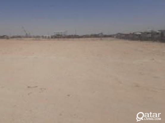 Open storage Yard for rent ( approved land for storage ) near Salawa road industrial zone