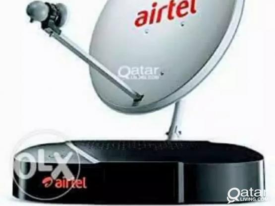Airtel dish tv service  sale call me 55288726