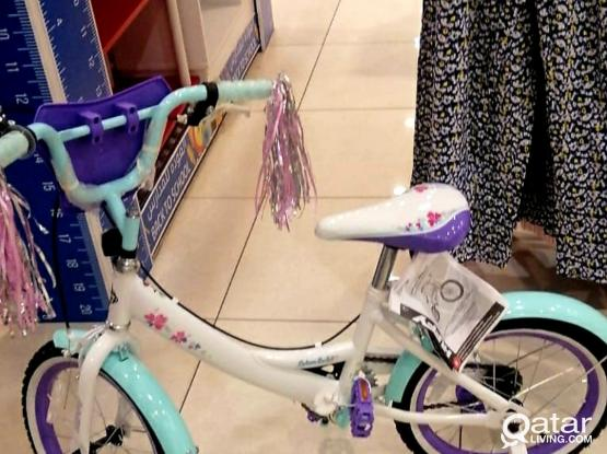 Cycle suitable for girls.