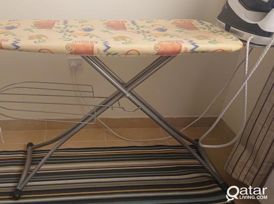 [Reserved] Heavy duty ironing table. Good condition.