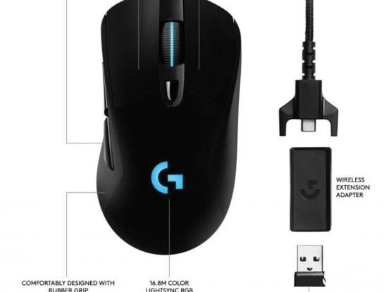 Logitech G703 Wireless Wired Gaming Mouse
