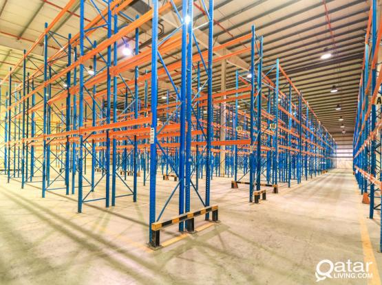 Spacious Temperature Controlled Food Store With Racking