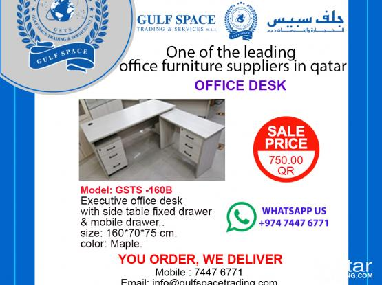 Executive Office Desk (SUMMER PROMOTION)