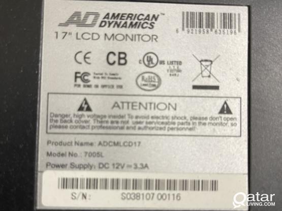 American Dynamics Monitor For Sale