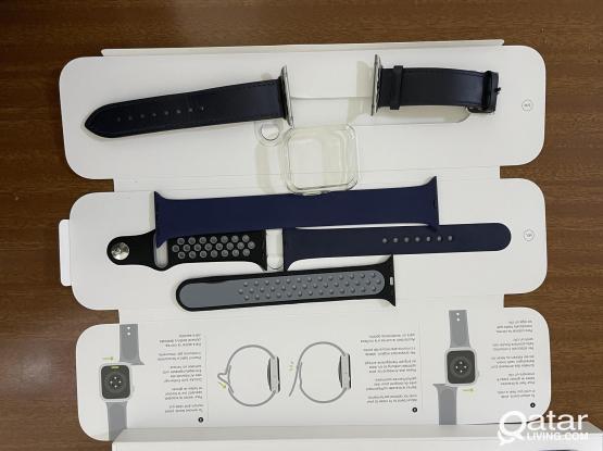 Apple Watch  6 GPS Aluminum 44mm-Blue  -1300/-qr