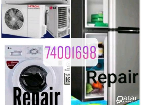 Ac,fridge,washing machine repair service