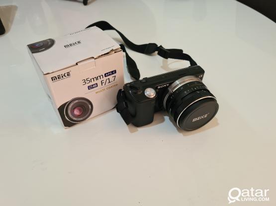 Sony Nex 5 Mirrorless Camera