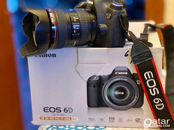 CANON 6d And 24-105 F4 L Is Usm